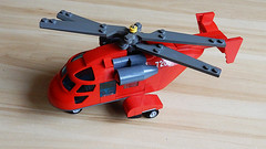 How to Build Lego Helicopter (MOC - 4K)