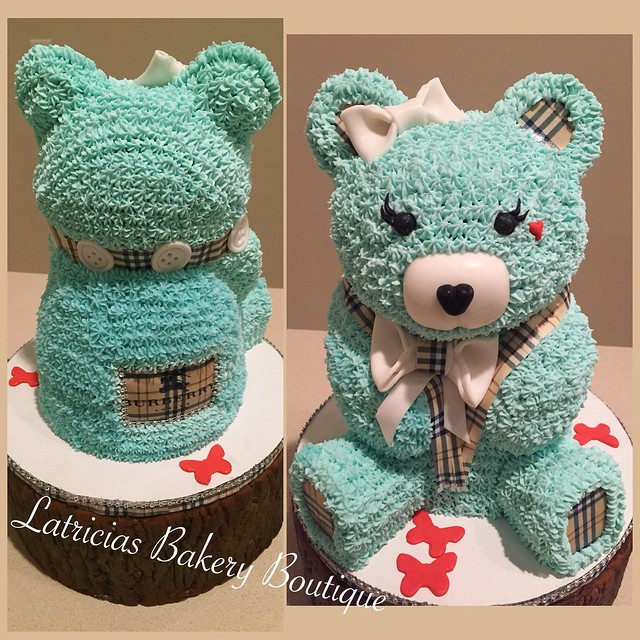 Bear Cake by Latricia Halyard of Latricia's Bakery Boutique LLC.