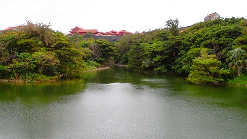 Naha Castle auf Okinawa