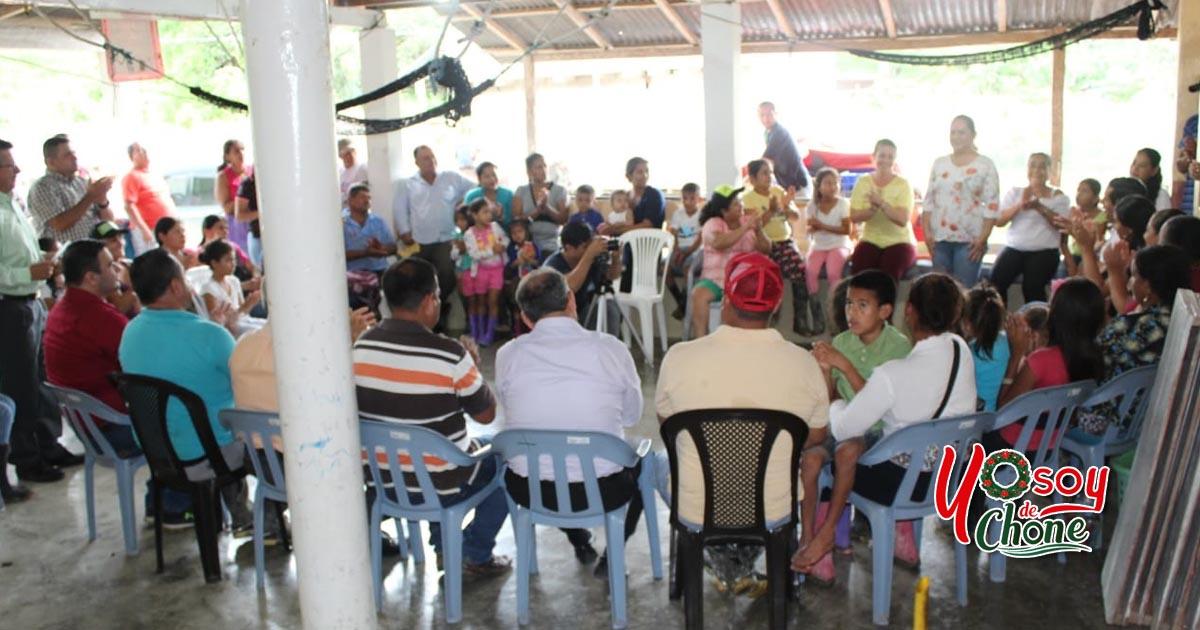 Reunión de trabajo en sitio Boca de Barbudal