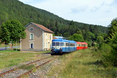 X 2907 & X 2844 - Barjac (48) - Photo of Esclanèdes