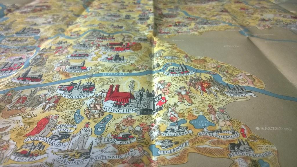 Deutschland; 1934_3, map, Germany | worldtravelLib - I am ...