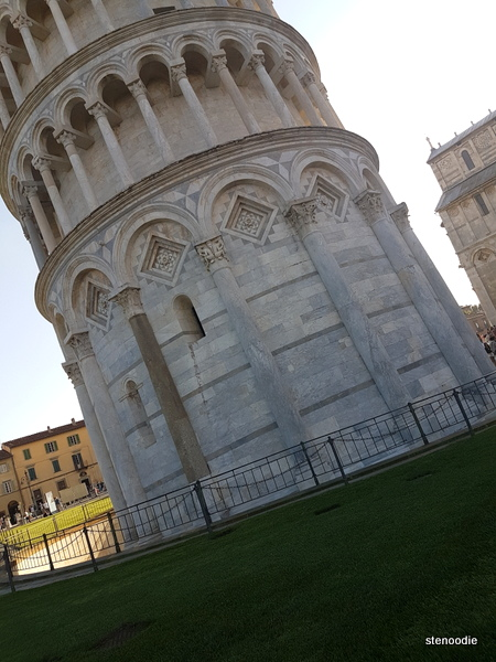 Leaning Tower of Pisa ground