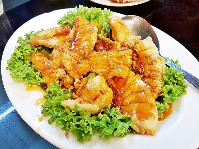 Sweet & Sour Sliced Garoupa Fish