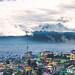 Nevado de Toluca y el barrio por Joan Díaz