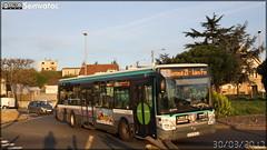 Irisbus Citélis 12 - RATP (Régie Autonome des Transports Parisiens) / STIF (Syndicat des Transports d'Île-de-France) n°8580