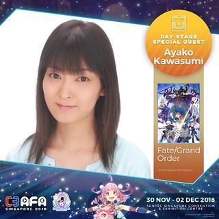 C3AFA18_Day_Stage_Guests_Kawasumi_Ayako