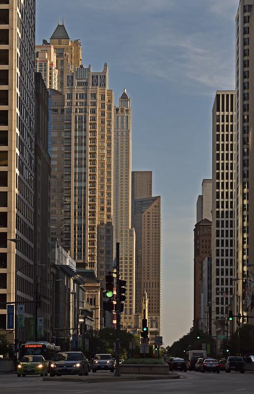 USA - Illinois - Chicago - North Michigan Ave