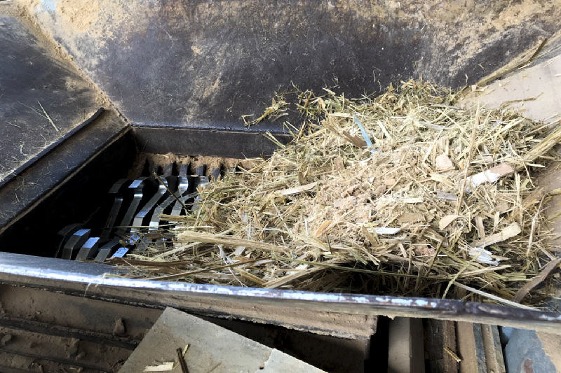 竹廢料新出路。圖片提供:林裕仁。