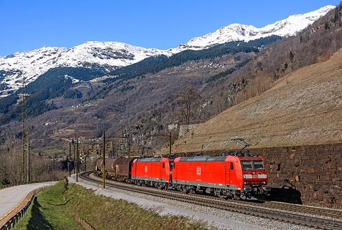 DB185 119 + 136