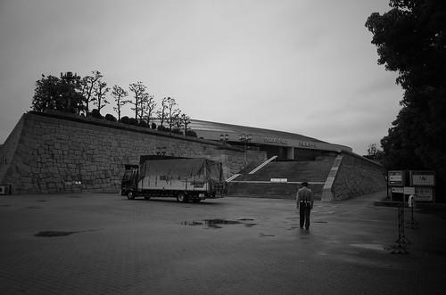 大阪城、夢のあと