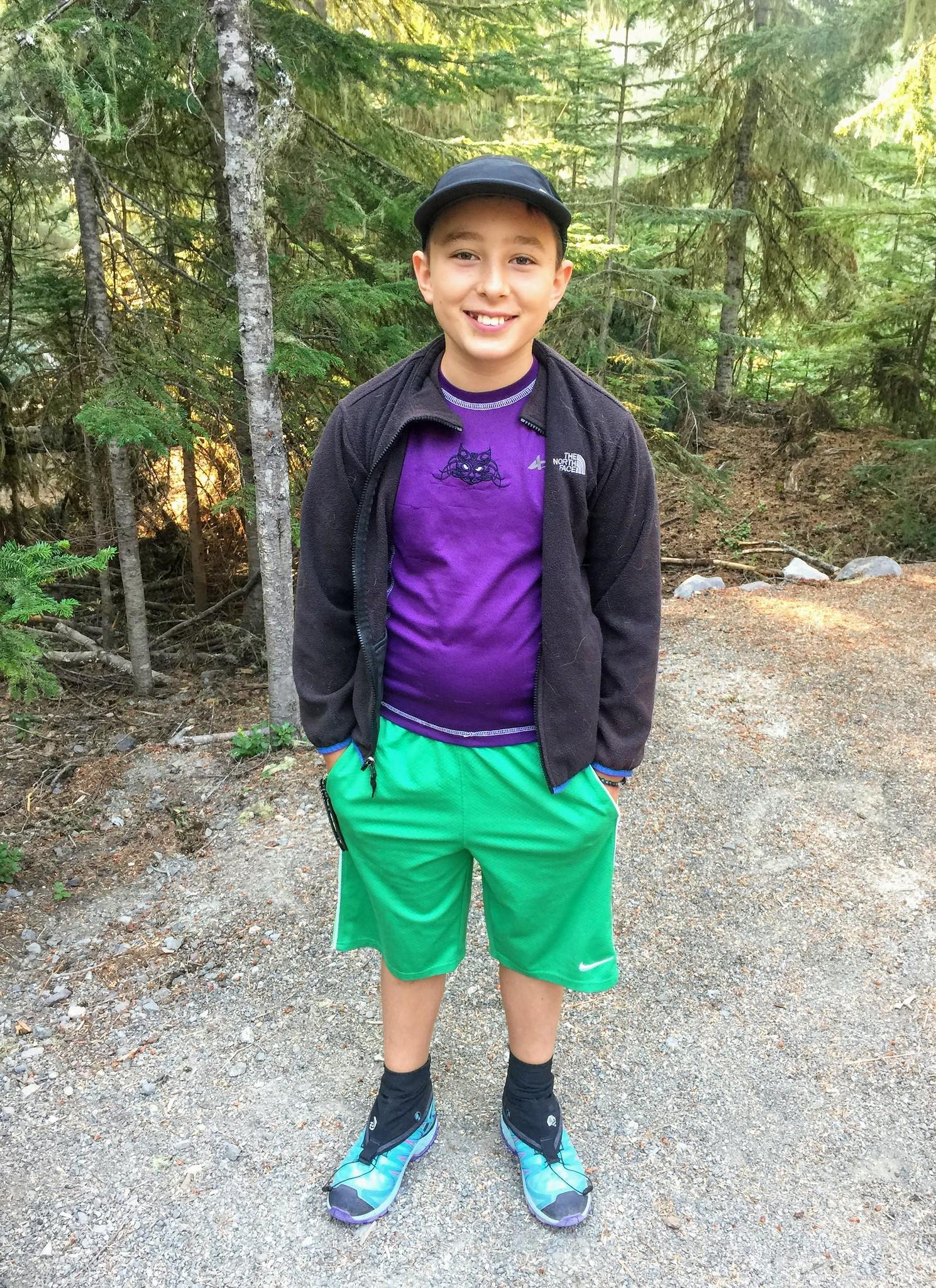 Casper is ready to hike