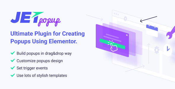 JetPopup v1.2.3 – Popup Addon for Elementor