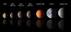 Astronomers using data from NASA's Kepler mission and ground-based telescopes recently discovered the three smallest exoplanets known to circle another star. Original from NASA. Digitally enhanced by rawpixel.