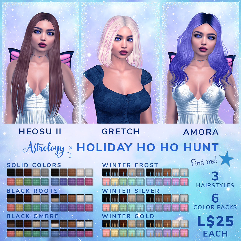 Astrology for Holiday Ho Ho Hunt