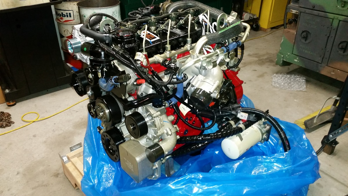 Engine Swap: Cummins R2 8 - ClassicBroncos com Forums