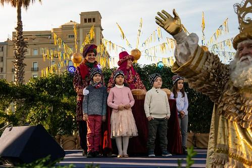 Arribada dels Reis d'Orient a Barcelona