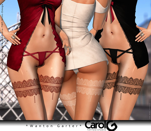 Wanton Garter Tattoo [CAROL G]
