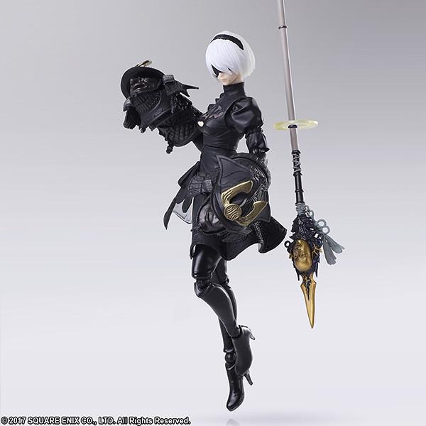 造型整個砍掉重練!BRING ARTS《NieR:Automata 尼爾:自動人形》 2B(寄葉二號B型)Version 2.0  可動人偶