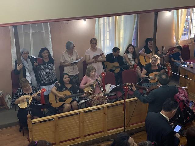 Nuevos pastores Iglesia El Bosque