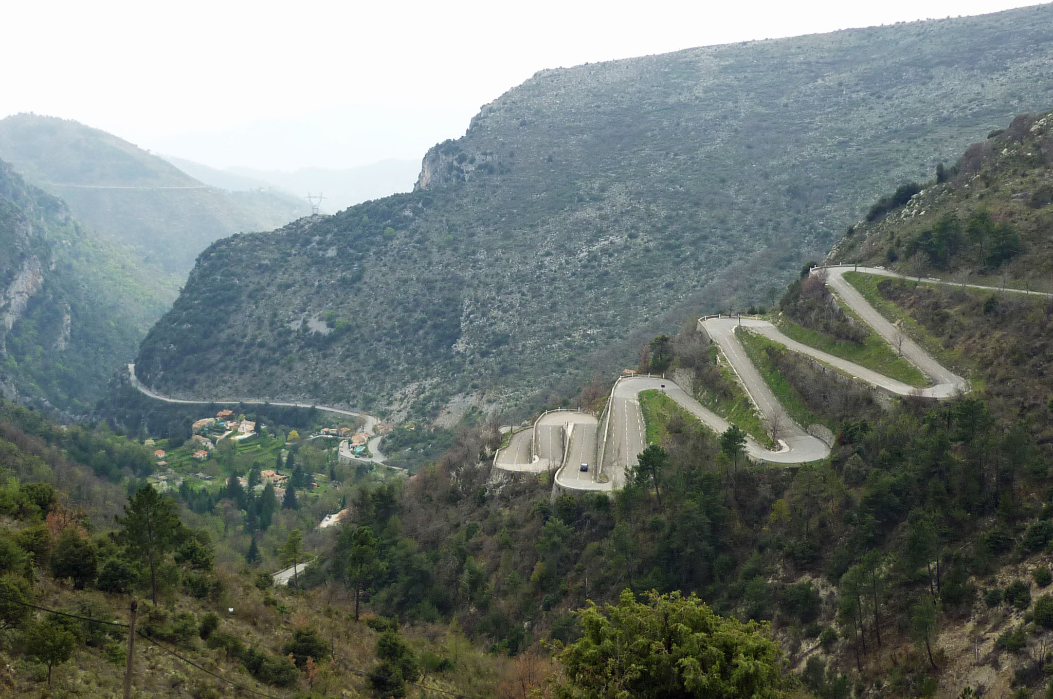 The Col de Braus mountain pass will be contested in 2019 as the rally's Power Stage.