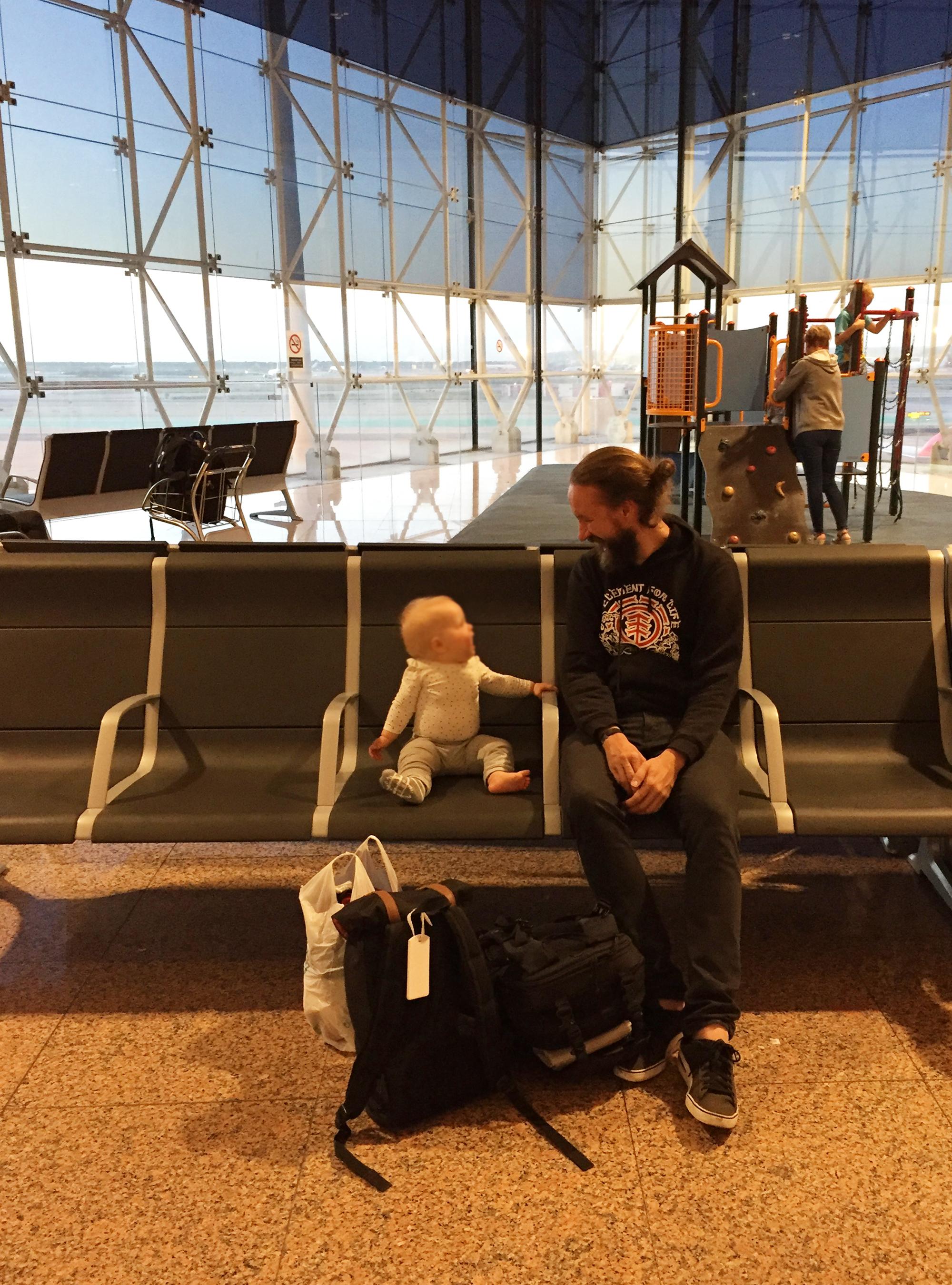 vauvan ensimmäinen matka