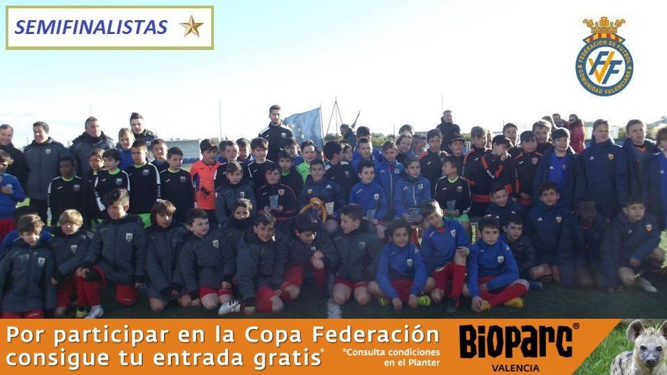 IX Copa Federación Benjamín Fase* Jornada 4