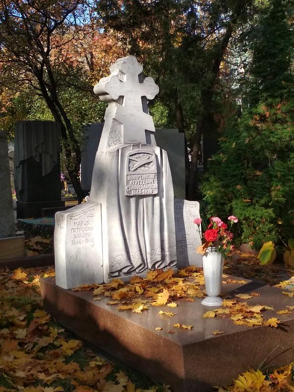 Москва - Новодевичье кладбище - Константин Станиславский