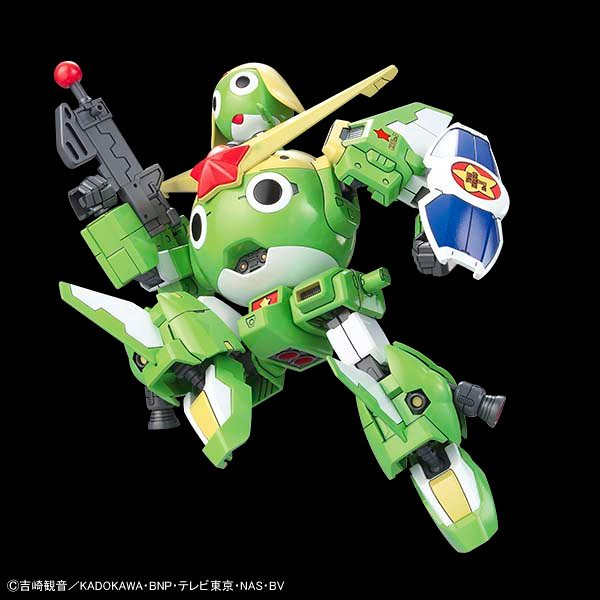 BANDAI SPIRITS《KERORO軍曹》「KERORO 機器人 MK-II 20週年特別仕樣」登場!ケロロ軍曹とケロロロボMk-Ⅱセット 20周年特別仕様