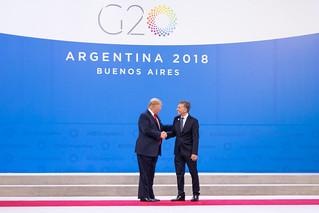 Visita del Presidente Donald Trump y la Primera Dama Melania Trump