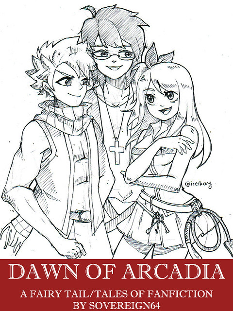 Dawn of Arcadia Cover