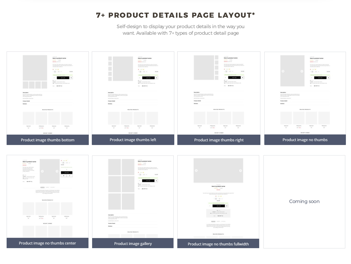 7+ product details page layout - Bos Nature - Skin Care and Beauty Spa