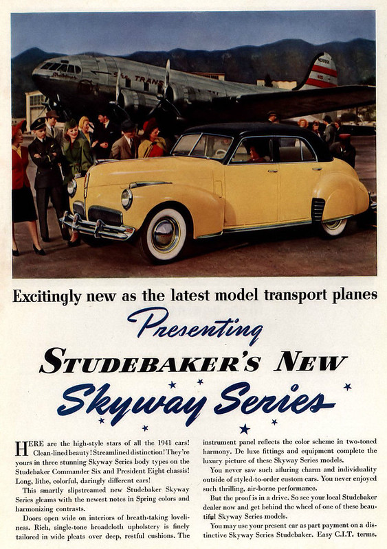 1941 Studebaker Skyway