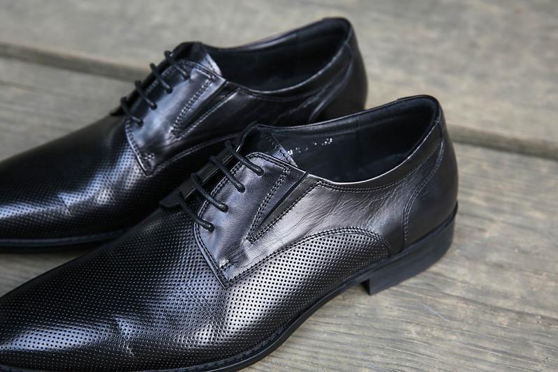 黑鞋穿搭男