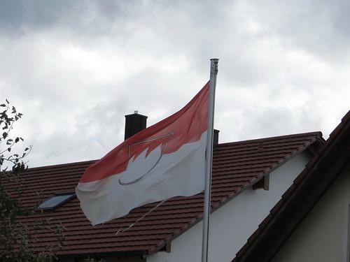 20171006 09 417 ostbay HausDach Franken Wappen Fahne