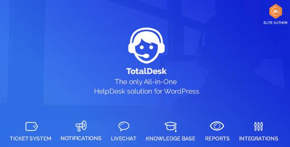 TotalDesk v1.5.20 – Helpdesk, Knowledge Base & Ticket System