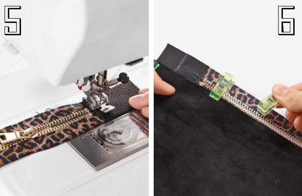 DIY Fashion Clutch Steps 5 6