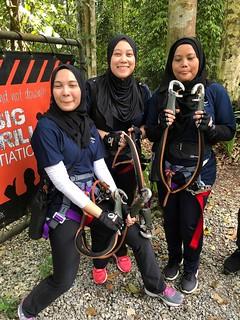Team Building @ Skytrex Adventure, Shah Alam