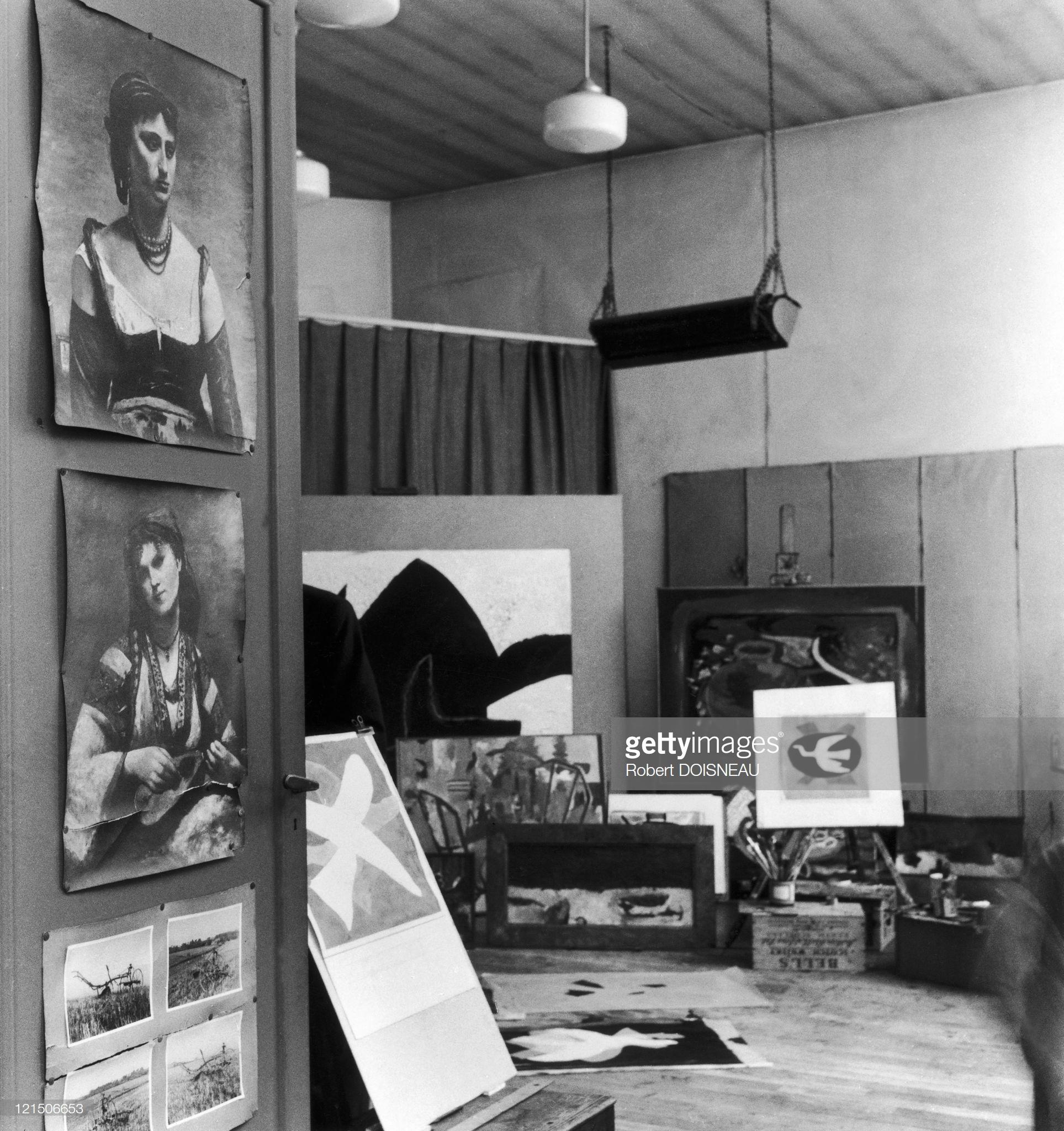 1957. В студии Жоржа Брака
