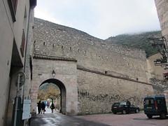 Porta d'Espanya - Vilafranca de Conflent - Photo of Urbanya