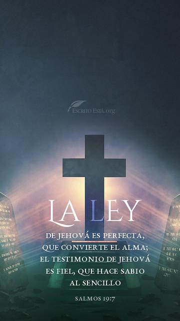 La ley de Jehová es perfecta