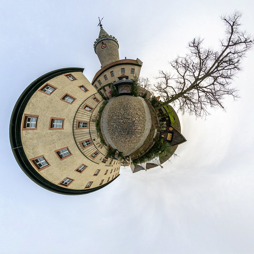 Kahla - Leuchtenburg Hof