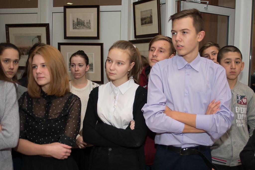 Открытие выставки, приуроченной к 200-летию И.С. Тургенева «Среди людей, мне близких… и чужих»