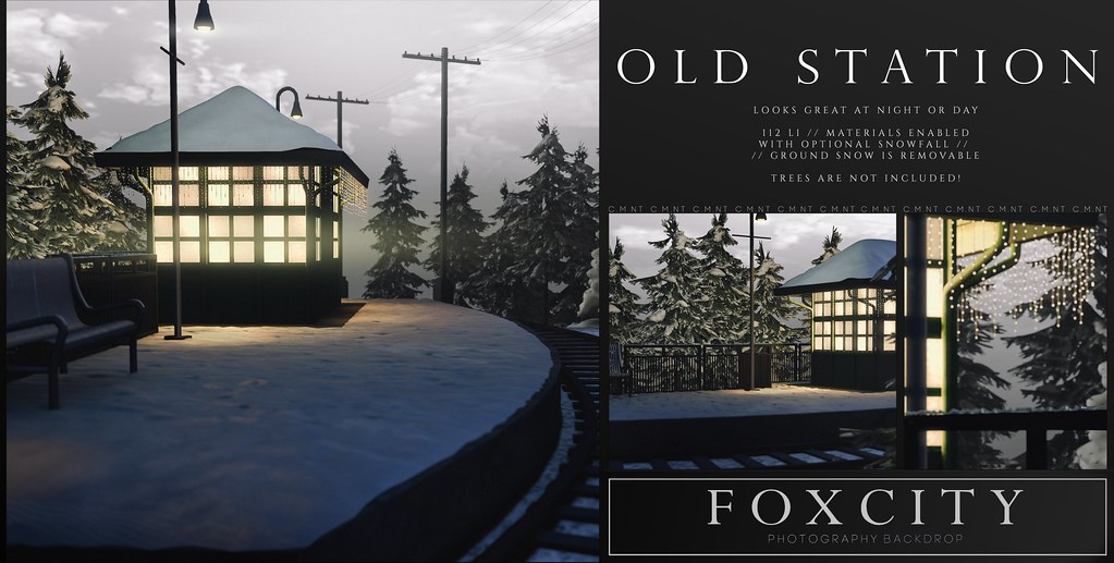 FOXCITY. Photo Booth – Old Station