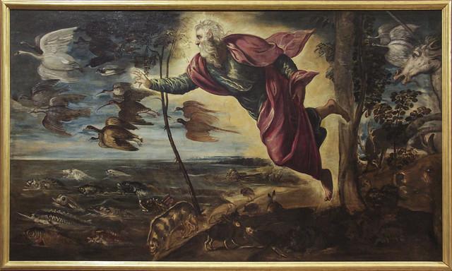 La Creazione degli animali, Jacopo Tintoretto, 1519-1594