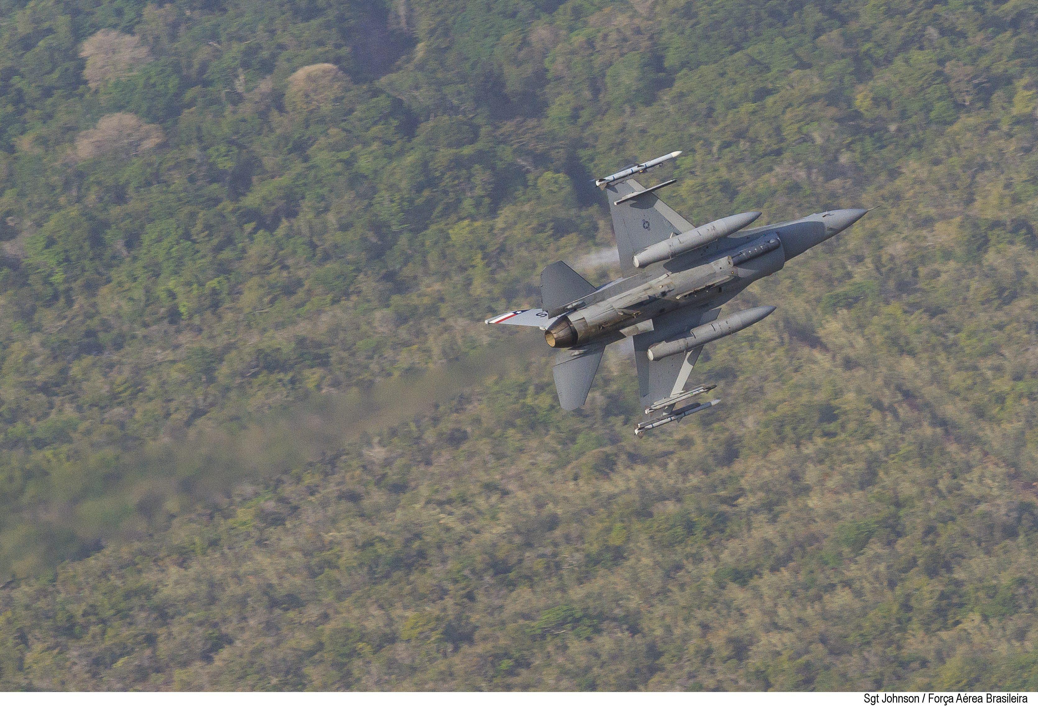 F-16C da Guarda Nacional do Texas na CRUZEX 2018