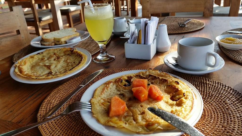 Sawah Indah Villa śniadanie