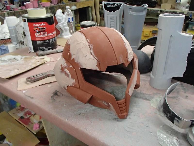 Helmet Filler Progress