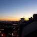 Nottingham at sunrise