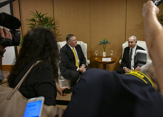 Secretary Pompeo Meets With Israeli Prime Minister Benjamin Netanyahu